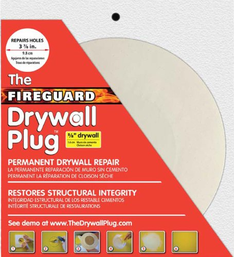 BPMI FP583 5/8-Inch Thick 3-7/8-Inch Diameter Fireguard Drywall Plug