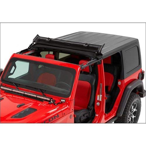 Bestop 5245217 Black Twill Sunrider for Hardtop