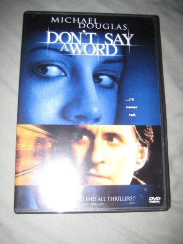 Don't Say a Word by Michael Douglas