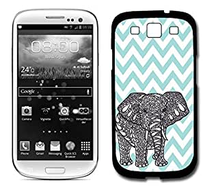 Blue Chevron Elephant for Iphone 5/5S Fits for Iphone 5/5S