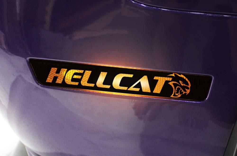 2pcs Car Scratch Sticker Headlight  Stripe Decal Vinyl Claw Mark Hellcat