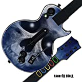 Mightyskins Protective Skin Decal Cover Sticker for GUITAR HERO 3 III PS3 Xbox 360 Les Paul - Haunted Skull