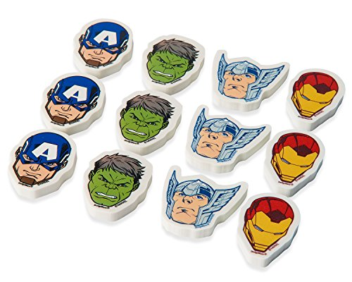 Marvel Epic AvengersTM Erasers, Party Favor