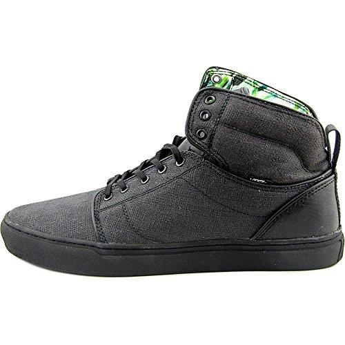 Vans Mens Alomar Rettili Sneakers Blackblack 11