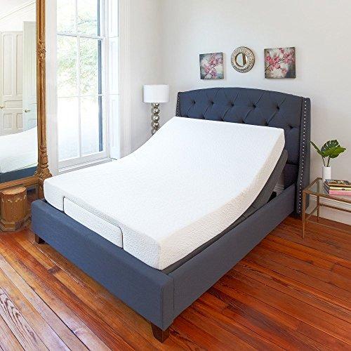 Classic Brands Adjustable Comfort Adjustable Bed Base wit...