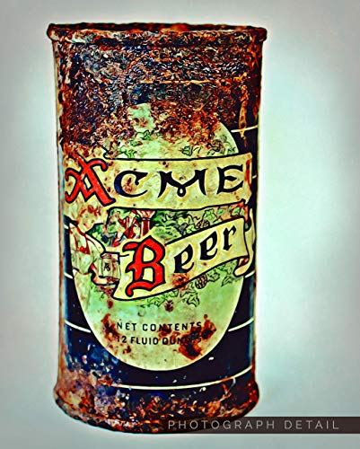 (Urban Natural Designs Acme Beer Circa 1940s Original Handcrafted Artwork Solid Wood )