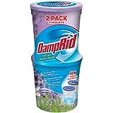DampRid FG60LV Moisture Absorber, Lavender Vanilla, 10.5-Ounce, 2-Pack