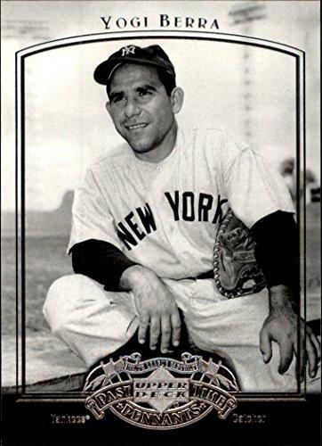 (2005 UD Past Time Pennants #90 Yogi Berra Baseball Card *GOTBASEBALLCARDS)