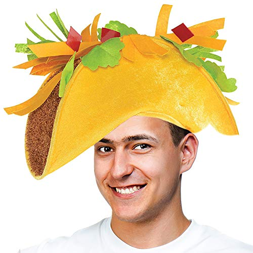 (Tigerdoe Taco Costume Hat - Sombrero Headbands - Food Costumes - Costume Party Hat- Cinco De Mayo Hats - Fiesta Party (Taco)
