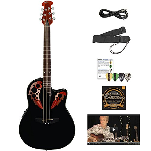 Ovation AE44-5-KIT-1 Acoustic-Electric Guitar