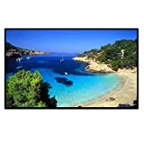 Excelvan 120 inch 16:9 Projector Screen for HDTV/Sports/Movies/Presentations
