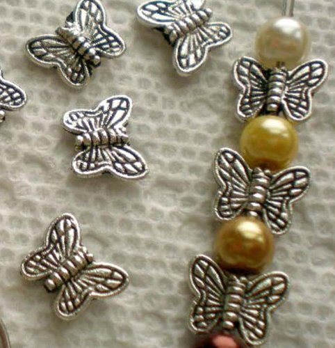 beading-station-30-piece-tibetan-silver-butterfly-spacer-charm-beads-10mm