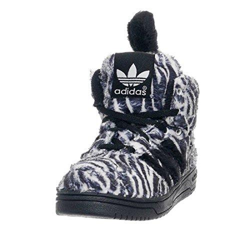 detailed look 5e94d 48e9b adidas Jeremy Scott Zebra I Infant  Toddlers Shoes Designer Sneakers  Black Running White G95762 (SIZE 5.5K) - Buy Online in Oman.