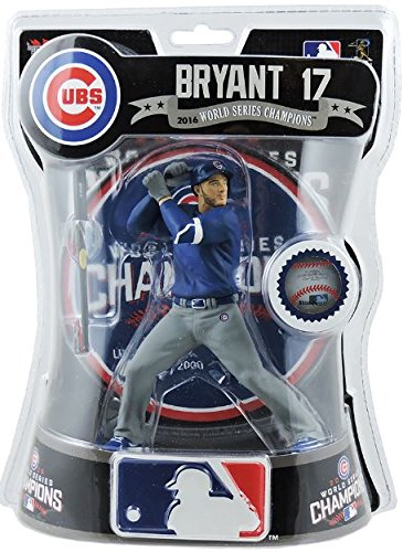 Kris Bryant Chicago Cubs W.S. Champs Imports Dragon Action Figure L.E. /2000