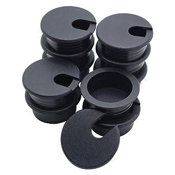 1 pc. 1-1//2 Black Desk Grommet