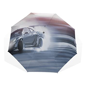 Amazon com: Rain Umbrella Windproof Race Car In Racing Car