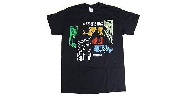 Beastie Boys: La raíz Down camisa - negro -: Amazon.es: Ropa y accesorios