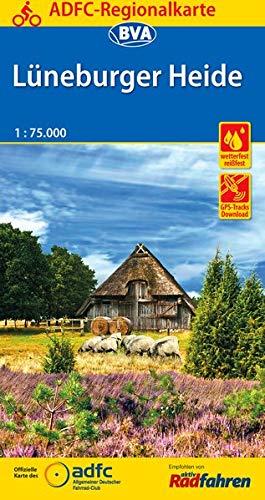 ADFC-Regionalkarte Lüneburger Heide, 1:75.000, reiß- und wetterfest, GPS-Tracks Download (ADFC-Regionalkarte 1:75000) Landkarte – Folded Map, 1. Februar 2018 reiß- und wetterfest BVA BikeMedia GmbH 3870738197 Deutschland