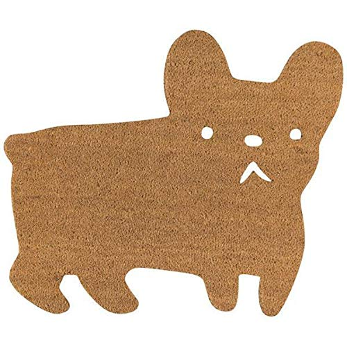 Danica Studio Doormat, Frenchie Dog Shape,