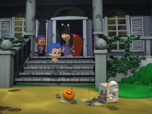Halloween Bubble Guppies (Haunted House Party)