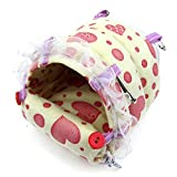 Alfie Pet by Petoga Couture - Darcy Sleeping Snug for Small Animals like Dwarf Hamster and Mouse - Color: Pink
