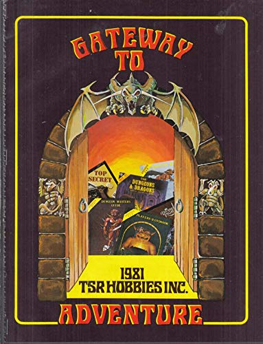 TSR Hobbies Gateway to Adventure Dungeons & Dragons magazine insert 1981