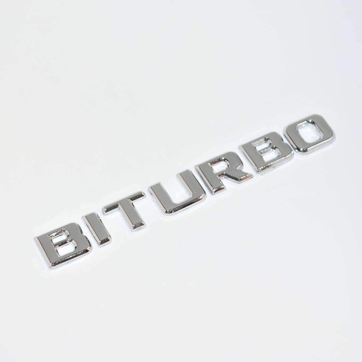 Brand New Ford Mustang 3-D Chrome Plastic Auto Car Truck Emblem Decal Sticker