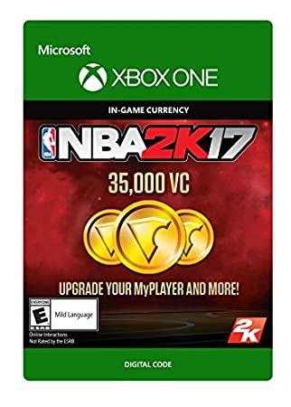 NBA 2K17: 35,000 VC - Xbox One Digital Code