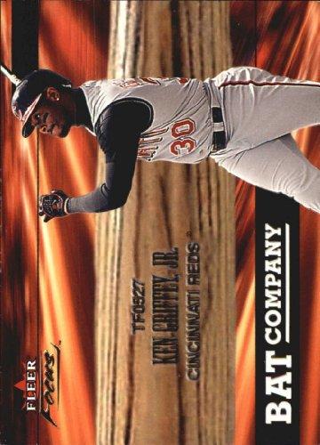 2001 Fleer Focus Bat Company #4 Ken Griffey Jr. - Cincinnati Reds