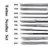 Tattoo Needles Set - Autdor 50PCS Mixed Tattoo