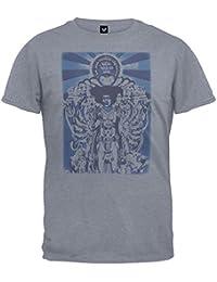 Jimi Hendrix - Mens Bold As Love Premium Soft Adult Mens T-shirt