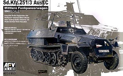 Amazon.com: SdKfz 251/3 Ausf C mittlere funkpanzerwagen ...