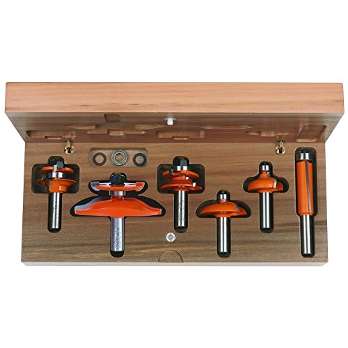 CMT 800.520.11 6-Piece Cove Cabinetmaking Set, 1/2-Inch Shank