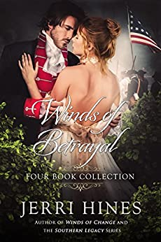Winds of Betrayal Four Book Collection by [Hines, Jerri]