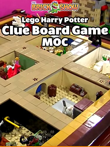 Clip: Lego Harry Potter Clue Board Game MOC
