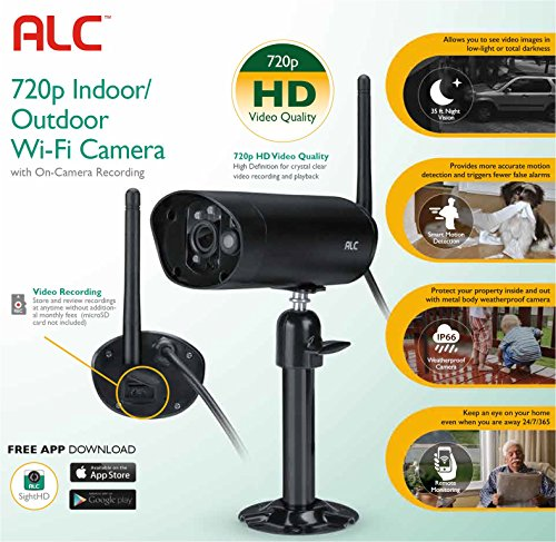 ALC AWF50 Sight HD Indoor/Outdoor 720p Wi-Fi Network Surveillance Camera