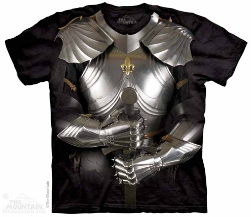 The Mountain Body Armor Knight Adult T-Shirt ()