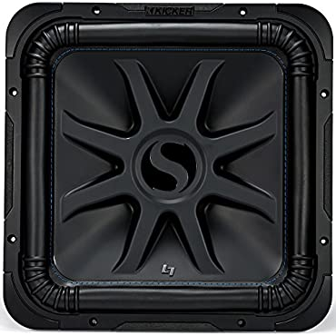 Kicker Solo-Baric L7S 2000W 15 4 Ohm DVC Sealed or Ported Square Subwoofer