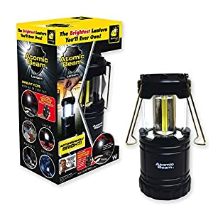 Atomic Beam Lantern Original by Bulbhead, Bright 360 Degree, Collapsible LED Lantern for Emergencies & Camping