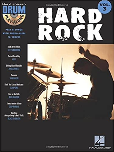 Hard Rock: Drum Play-Along Volume 3 (Hal Leonard Drum Play-Along