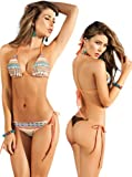Sexy Two-Piece Beautiful Print Bikini Swimsuit