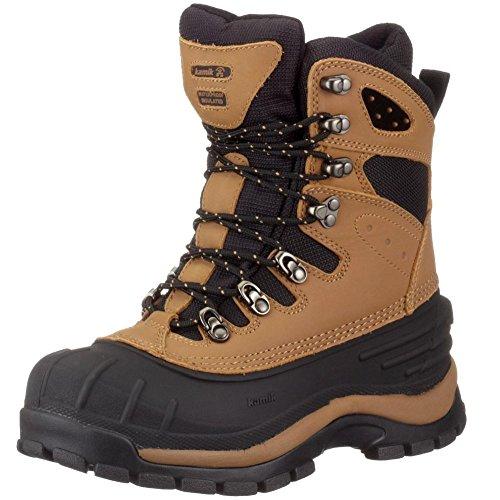 Kamik blacktail–Botas de invierno para hombre, unisex, marrón, 41.5 EU marrón