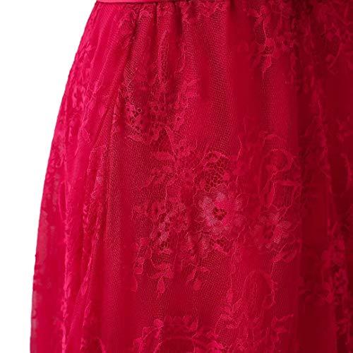 rdelnder Frauen Ball Burgund B Formalen Abschlussball Boden Kleid Spitze der Schulter Langen L King's Abend Weg ngen Kleidern Love von H0q5xOw6T