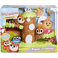 Little Tikes Springlings Surprise Poppin Treehouse Set with Two Plush Pets