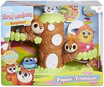Little Tikes Springlings Surprise Poppin Treehouse Set