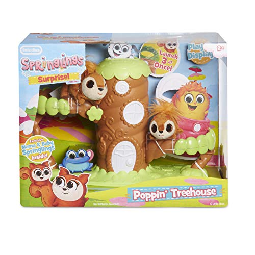 Little Tikes Springlings Surprise Poppin' Treehouse Set Now $9.99 (Was $29.99)