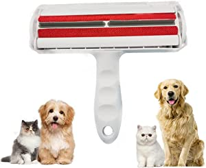 XINDAJI 【Upgrade】 Pet Hair Remover Roller Lint Remover,Reusable Dog & Cat Fur Remover Animal Hair Removal Tool for Furniture, Couch, Carpet, Car Seat,Bedding,Clothing