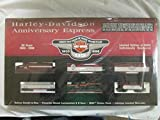 Harley Davidson 95th Anniversary Express HO Scale Train Set Deluxe Diesel Locomotive 1998