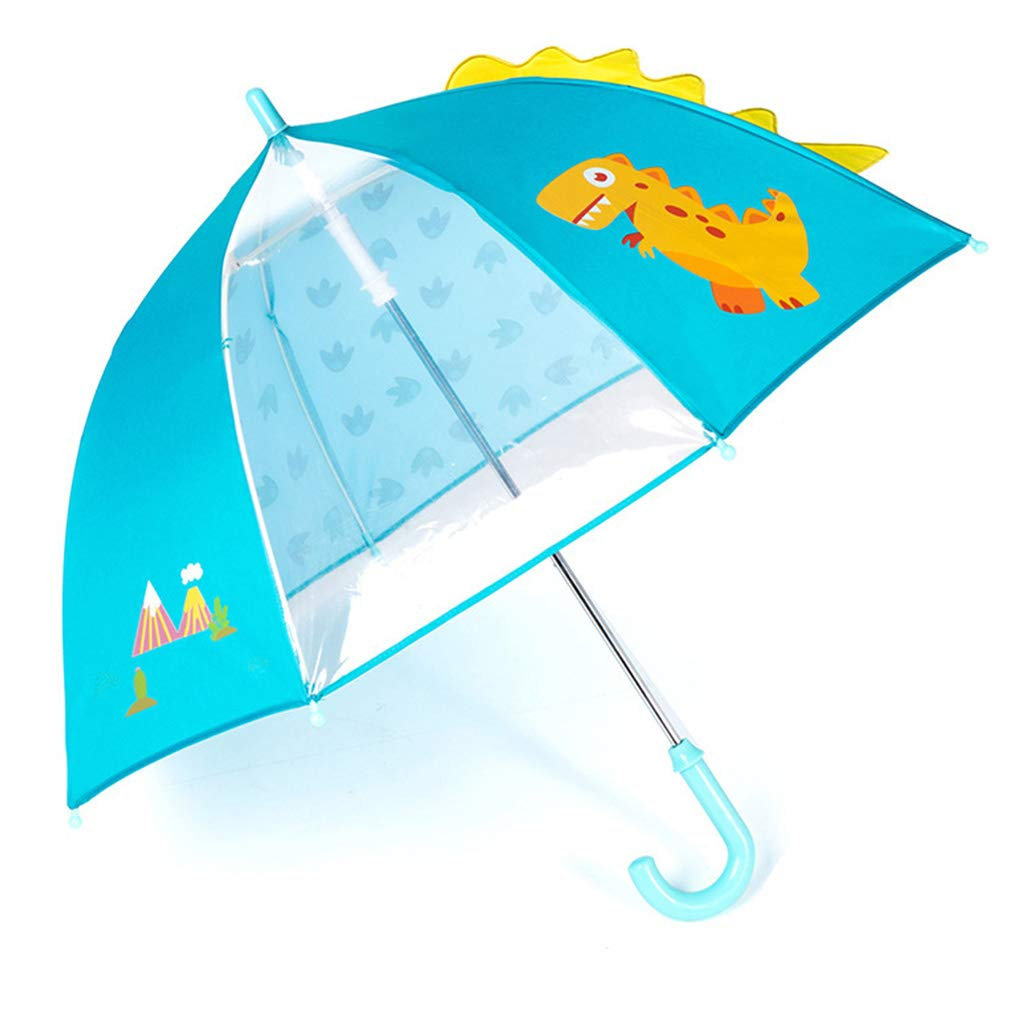 Ombrello per Bambini Yajiun Rosa 70 Motivo: Dinosauro
