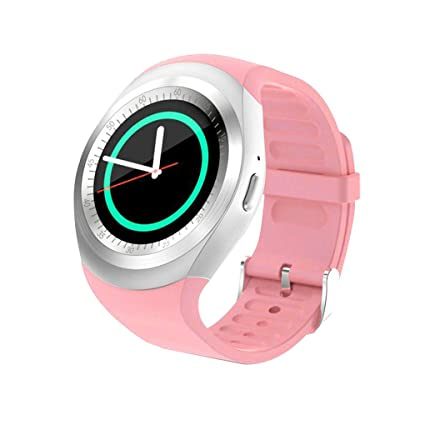 KOROWA Y1 1.54 Inch Touch Screen Smart Watch Calling Fitness Sports Tracker Pedometer Wristwatch Monitor Support
